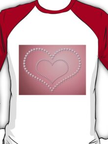 Heart of pearls 3 T-Shirt