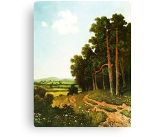 Edge of the Forest ... from childhood Canvas Print