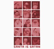 SANTA IS SATAN by hanelyn