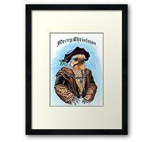 Merry Christmas from Maester Robin Framed Print
