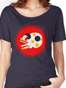 Aztec skull V2 Women's Relaxed Fit T-Shirt
