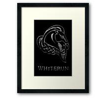 Whiterun Framed Print