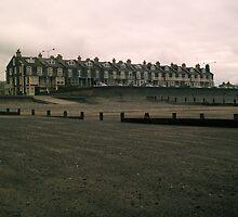 Tywyn sea front by Carey