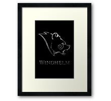 Windhelm Framed Print