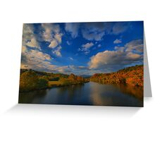 Sweep of Clouds  Greeting Card