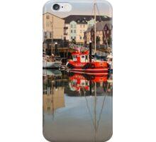 Carrickfergus Marina iPhone Case/Skin