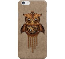 Steampunk Owl Vintage Style iPhone Case/Skin