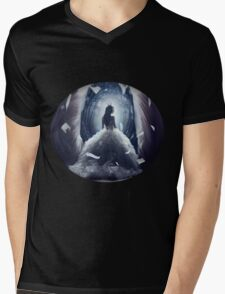 - Princess of Dark: Ashlinea - Mens V-Neck T-Shirt