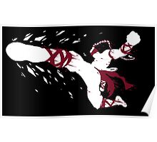 Lee Sin Ink White Poster