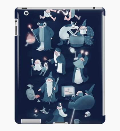 A Shared Flat for Wizards iPad Case/Skin