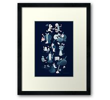 A Shared Flat for Wizards Framed Print