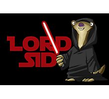 Lord Sid - Star wars/Ice Age Photographic Print