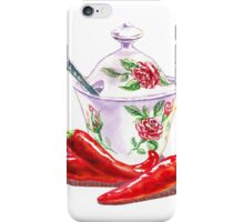 Hot Sweet Chili Peppers iPhone Case/Skin