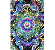 Mandala Psychedelic Art Design Photographic Print