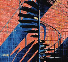 Spiral Staircase Multi-color(B) by Ralph  Chance