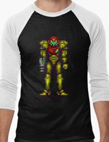 Super Metroid Men's Baseball ¾ T-Shirt