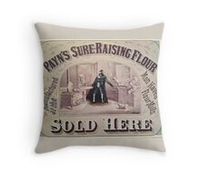 Dark Lord Baking Throw Pillow