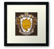 I am your king Framed Print