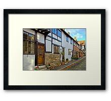 English Street Framed Print