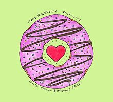 Troll-free science donuts: The Emergency Donut by Immy