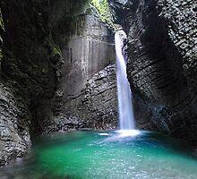 Waterfall Kozjak by mb-art-photo
