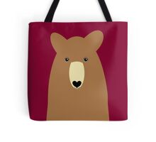 GRIZZLY BEAR PORTRAIT Tote Bag