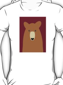 GRIZZLY BEAR PORTRAIT T-Shirt