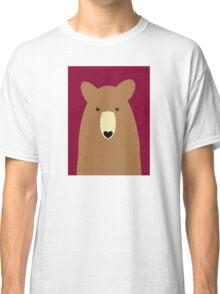 GRIZZLY BEAR PORTRAIT Classic T-Shirt