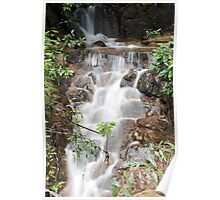 Falling water...? Poster
