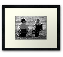 Talk Of The Day Framed Print