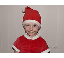 Taylan Wishing you a Merry Christmas for 2007 Photographic Print