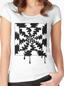 Trippy Times Women's Fitted Scoop T-Shirt