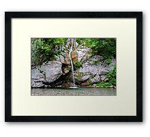 Waterfall Krampez Framed Print