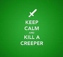 Minecraft Keep Calm by Lingua94
