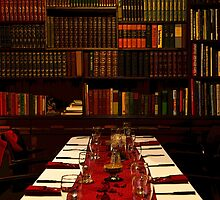 The Library At Joe's by Al Bourassa