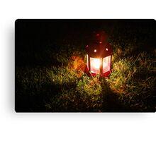 Late Night Lantern Canvas Print