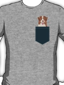 Hollis - Australian Shepherd gifts for dog lovers dog owner gifts and perfect gift for dog person T-Shirt
