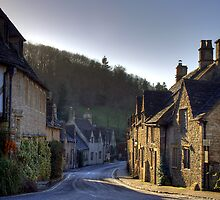 Castle Coombe by GlennB