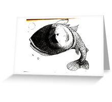 fish Greeting Card