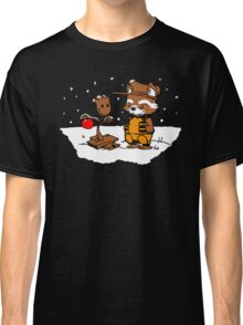 A Groovy Racoon Christmas Classic T-Shirt