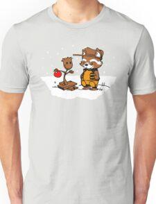 A Groovy Racoon Christmas Unisex T-Shirt