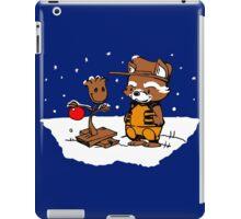 A Groovy Racoon Christmas iPad Case/Skin