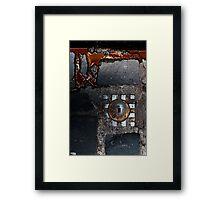 Secreted Framed Print