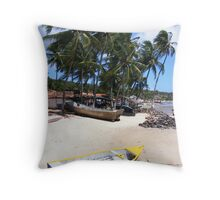 Barra de Conhau' - Brasil Throw Pillow
