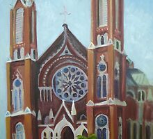 St. Joseph's Catholic Church, Macon, Georgia by N. Sue M. Shoemaker