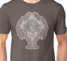 the tell tale heart : white ink edition Unisex T-Shirt