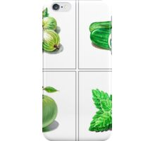 Green Vitamins iPhone Case/Skin