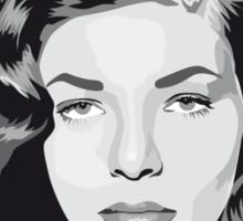 Lauren Bacall Hollywood Legend Sticker