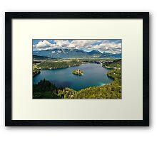 Lake Bled Framed Print