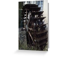 The Water Wheel Greeting Card